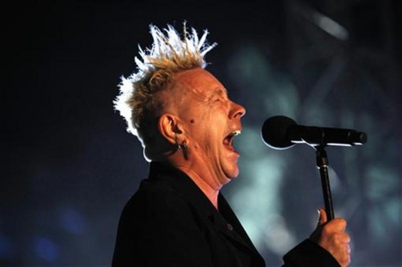 John Lydon of Public Image Ltd. performs at the Coachella Music Festival in Indio, California April 16, 2010.