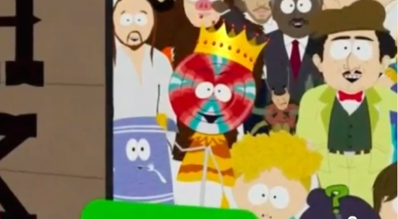 """South Park's"" Lollipop King character involved in the copyright infringement lawsuit"
