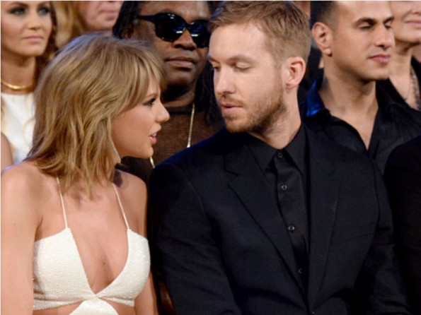 Taylor Swift and Calvin Harris