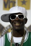 Entertainer Flavor Flav arrives at the 2008 VH1 Hip Hop Honors event in New York, in this October 2, 2008 file photo. Flavor Flav, also known as William Drayton, 53, Drayton, 53, was arrested and char