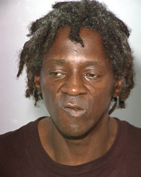 William Drayton, also know as entertainer Flavor Flav is shown in this booking photograph released by the Las Vegas Metropolitan Police Department October 17, 2012.