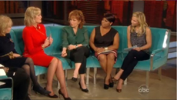 Ann Romney appeared Thursday with the ladies of &#034;The View,&#034; to discuss women&#039;s rights, family and marriage.
