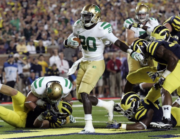 ncaa college notre dame football live score