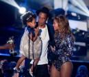 Blue Ivy Carter, Jay Z, Beyonce