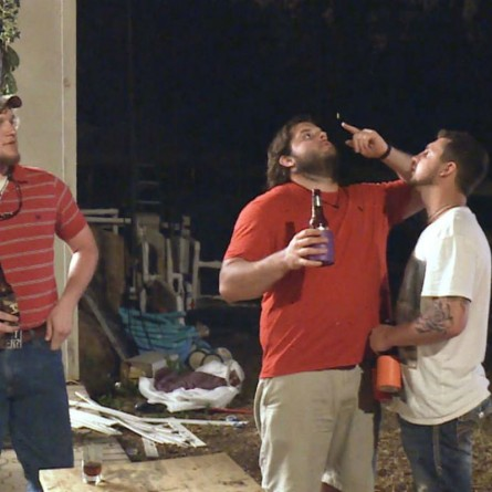 Duke worries about Hunter and Bradley on the July 2, 2015 episode of' Party Down South 2'