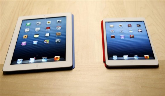 Apple unveiled a new smaller tablet the &#034;iPad Mini&#034; on Tuesday at an event in San Jose, California