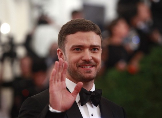 The groom Justin Timberlake wore a Tom Ford tuxedo he helped design.