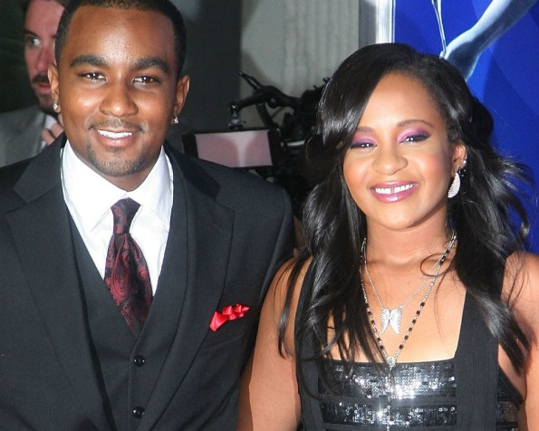 Nick Gordon & Bobbi Kristina Brown (L-R)