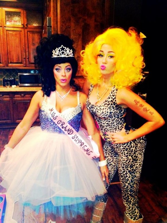 Miley Cyrus Halloween 2012.