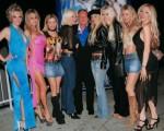Hugh Hefner & Playboy Playmates