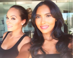 Evelyn Lozada & Shaniece Hairston