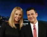 Charlize Theron Jimmy Kimmel