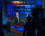 President Obama and Jon Stewart in their final interview for 'The Daily Show'