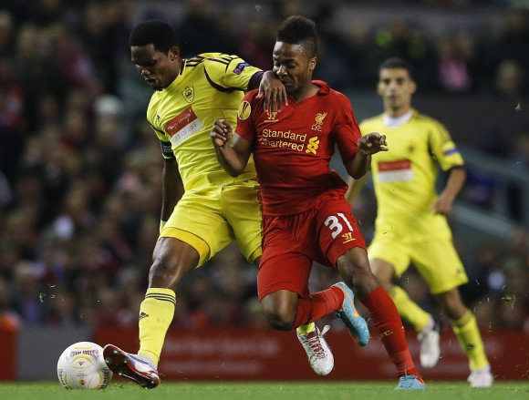 Liverpool vs Anzhi