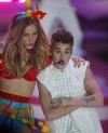 Singer Justin Bieber performs during the Victoria's Secret Fashion Show in New York November 7, 2012.