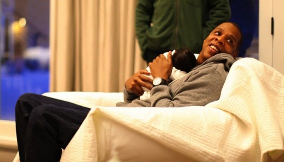 Blue and Jay-Z