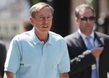 Director of the Central Intelligence Agency General David Petraeus attends the Allen & Co Media Conference in Sun Valley, Idaho July 12, 2012.