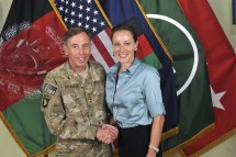 Paula Broadwell and David Petraeus