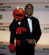 Sesame Street character Elmo and Kevin Clash