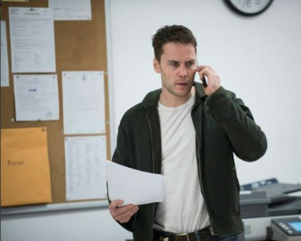 Taylor Kitsch as Paul Woodrugh on Season 2 of 'True Detective'