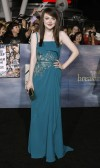 Cast member Dakota Fanning poses at the premiere of &#034;The Twilight Saga: Breaking Dawn - Part 2&#034; in Los Angeles, California November 12, 2012.