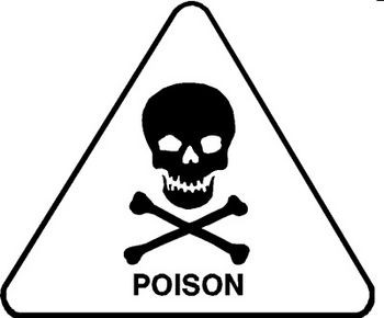 Poison Warning