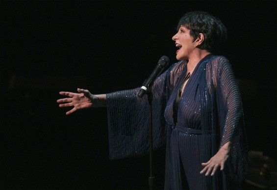 Singer Liza Minnelli performs during a tribute concert to composer Marvin Hamlisch in New York September 18, 2012.