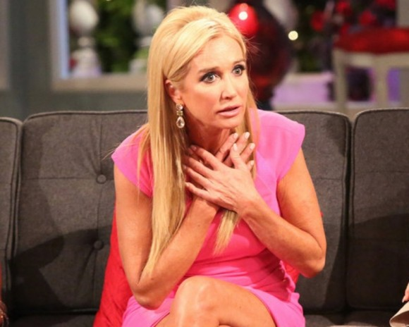Kim Richards was lucky to keep her toe after a devastating foot injury