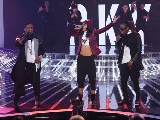 "Lyric 145 Performs on ""X Factor"" 2012, November 14."