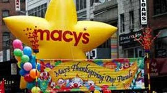 Macy's Thanksgiving Day Parade Float
