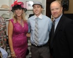 Vicki Gunvalson, Son Michael & Brooks Ayers