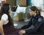 Rachel Ancheril & Missy Peregrym on 'Rookie Blue'