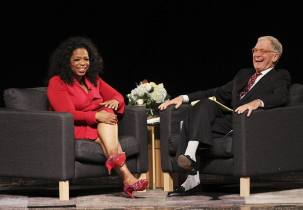 Oprah Winfrey, David Letterman