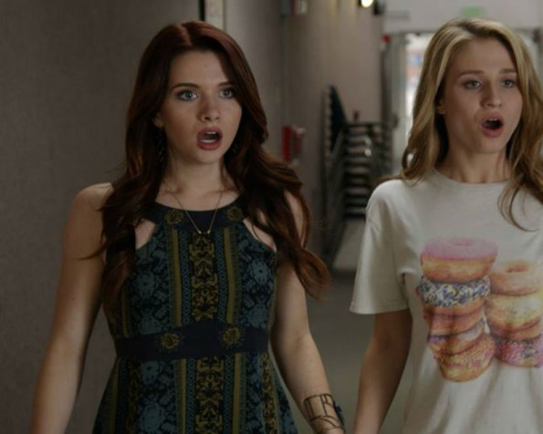 Karma and Amy on 'Faking It'