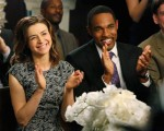 Caterina Scorsone & Jason George