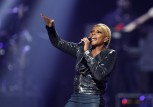 Singer Mary J. Blige performs during second day of the 2012 iHeartRadio Music Festival at the MGM Grand Garden Arena in Las Vegas, Nevada September 22, 2012.