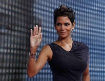 Cast member Halle Berry poses on the red carpet for the premiere of