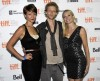 (L-R) Cast members Gretchen Lodge, Johnny Lewis and Alexandra Holden pose at the screening of the film &#034;Lovely Molly&#034; at the 36th Toronto International Film Festival September 14, 2011. 