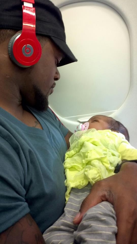 Kansas City Chiefs' linebacker Jovan Belcher and his daughter Zoey.