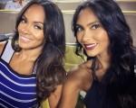 Evelyn Lozada & Shaniece Hairston