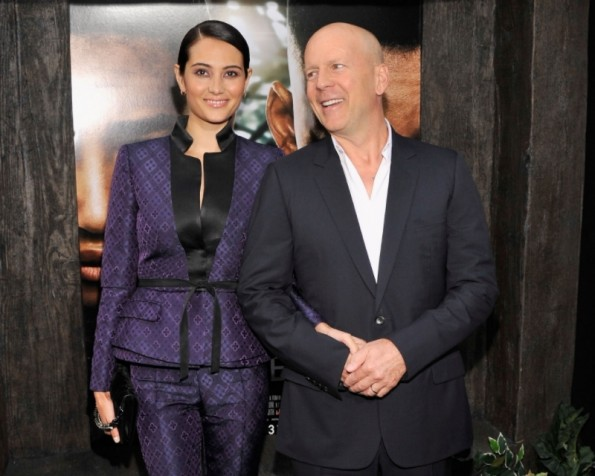 Emma Heming & Bruce Willis