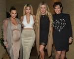 Kim Kardashian, Kylie Jenner, Khloe Kardashian & Kris Jenner