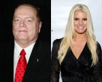 Larry Flynt and Jessica Simpson