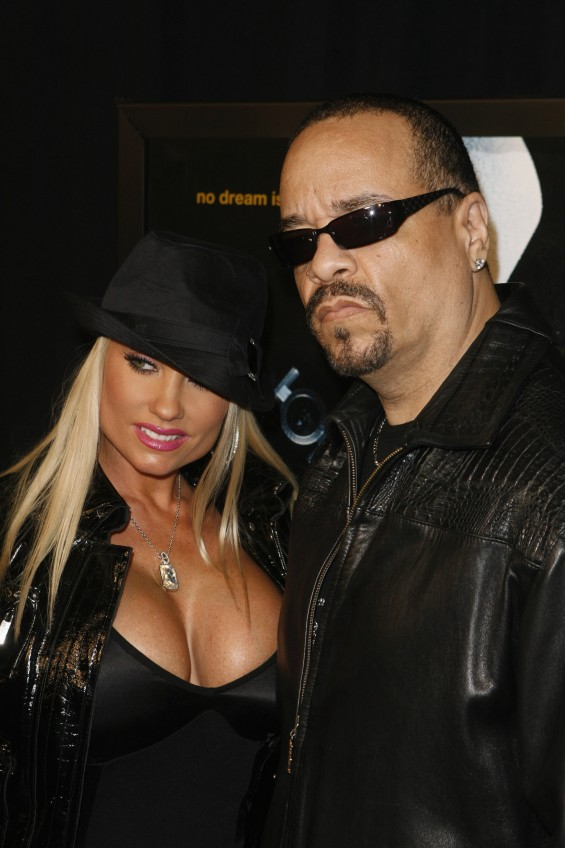 "Rapper Ice T and his wife Nicole ""CoCo"" Austin"