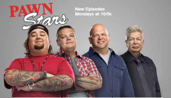 """Pawn Stars"" on The History Channel"