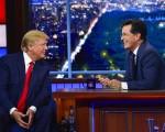 Donald Trump on Stephen Colbert
