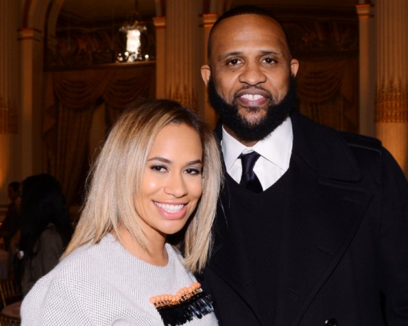 Amber and CC Sabathia