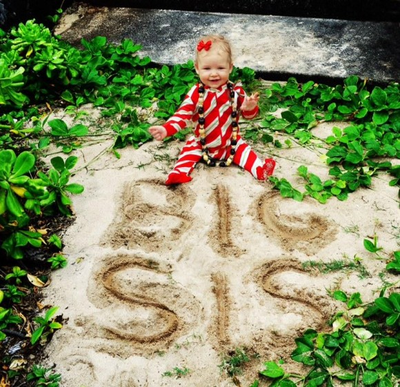 Jessica Simpson's daughter Maxwell Drew will be a big sister. (Photo ...