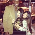 Lamar Odom, Khloe Kardashian-Odom and Kendall Jenner