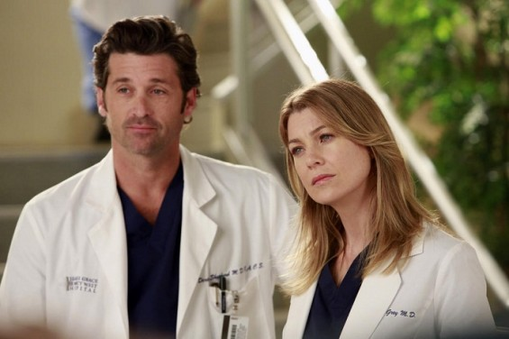 &#034;Grey&#039;s Anatomy&#034; characters Meredith and Derek